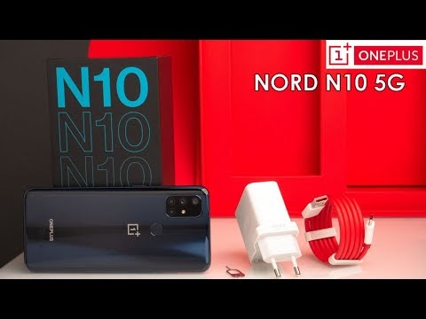 OnePlus Nord N10 5G | UNBOXING & Quick Review | First Touchy Impression!