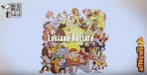Luciano Bottaro in mostra al Quai des Bulles!