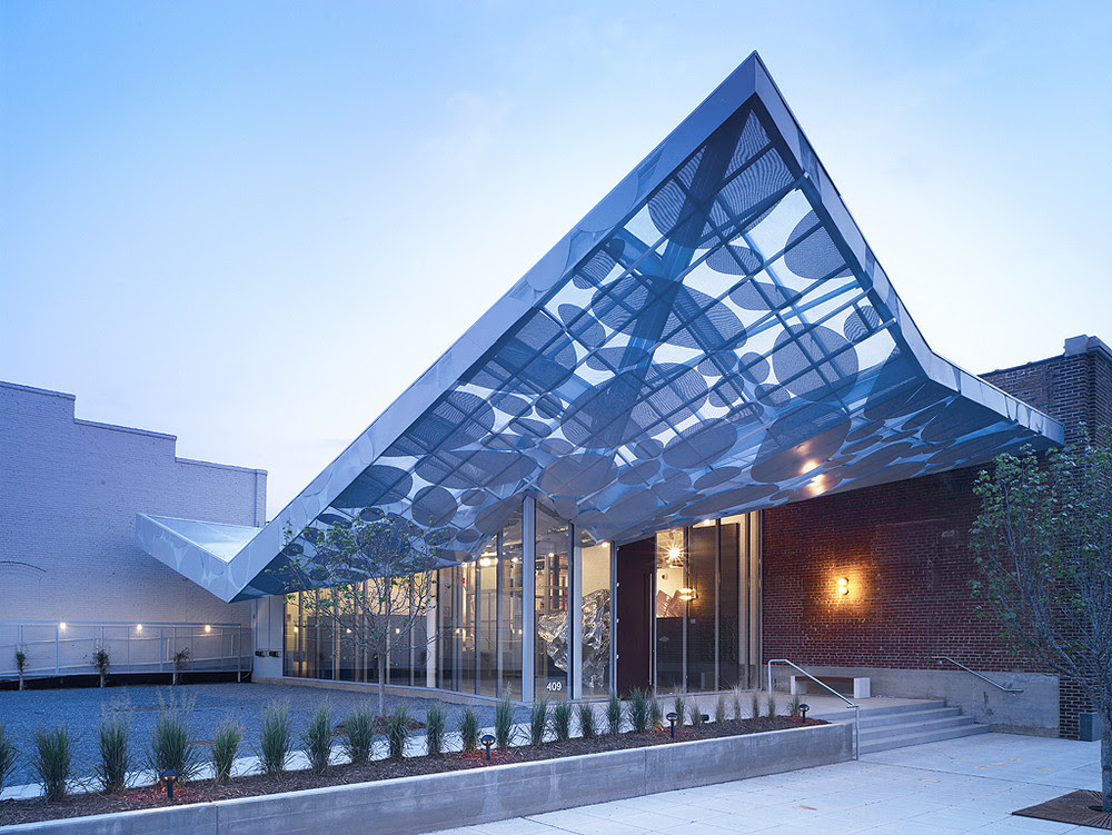Contemporary Art Museum in Raleigh, North Carolina by Brooks