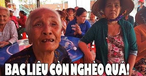 100 phần quà đến tay bà con nghèo ở Bạc Liêu xem mà xúc động quá
