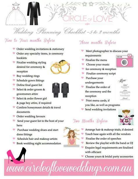 Wedding planning checklist 5 months   2 months   Beach