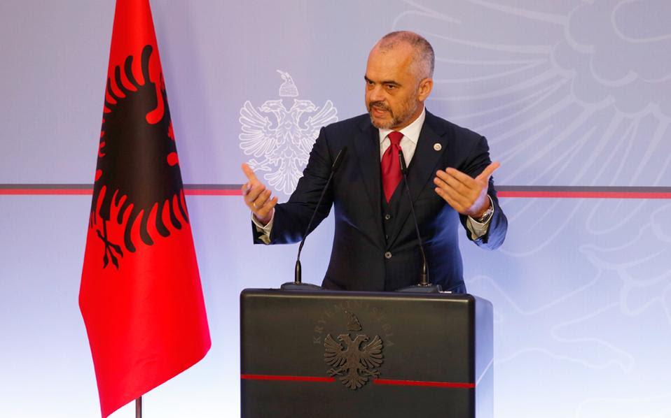 Ο εθνικισμός, πολιτικό νόμισμα υψηλής αξίας στην Αλβανία, που χρησιμοποιείται κατά κόρον από τον κ. Ράμα.