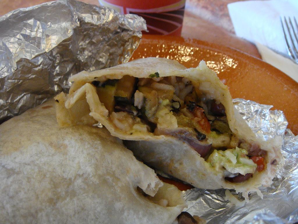 Garden Vegetable Burrito