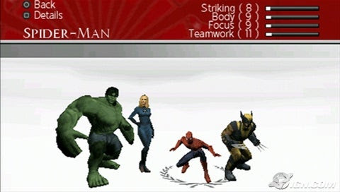 Marvel: Ultimate Alliance 2 Screenshot