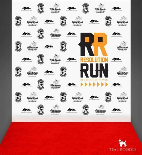 Custom Step And Repeat Backdrop For Red Carpet Event by