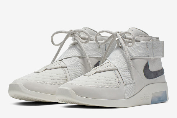 "aeda8e9c48 Official Images Of The Nike Air Fear Of God 180 In ""Light Bone"""