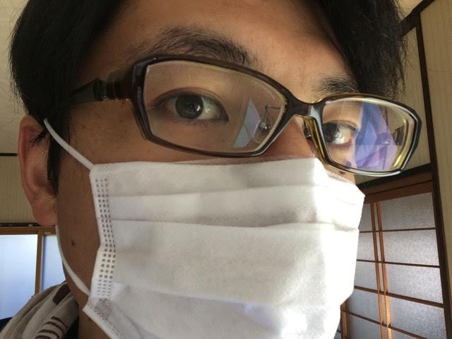 メガネ歴20年のぼくが教えるメガネがくもりにくくなるマスクのつけ方