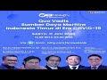 The Brorivai Cente Gelar Webinar Quo Vadis Sumber Daya Maritim Indonesia Timur di Era COVID-19