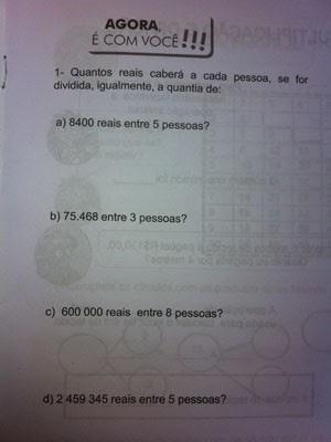 Numerais com erro de padronização (Foto: Isabela Marinho/ G1)