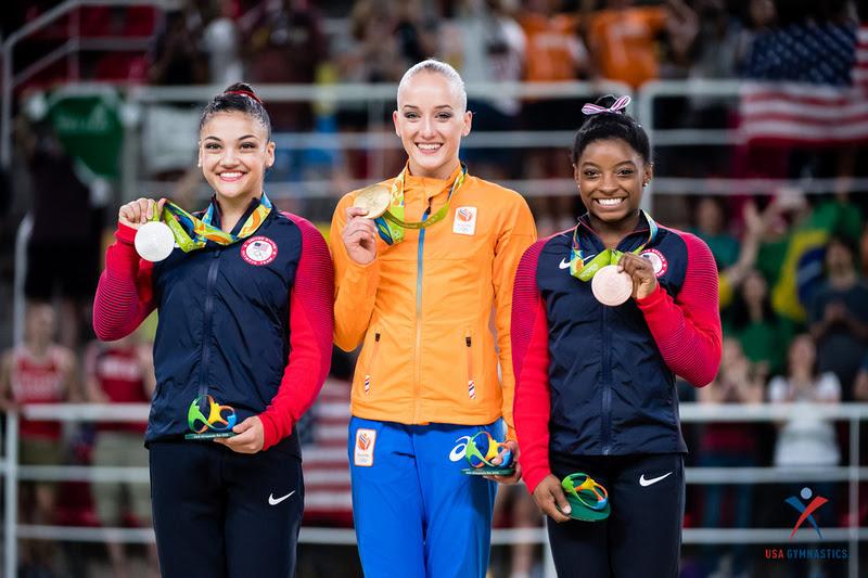 USA Gymnastics: Aug. 15 - Event Finals Day 2 &emdash; 2016 Olympic balance beam medalists