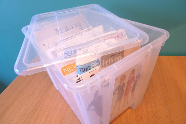 Tilly and the Buttons: How Do You Store Your Vintage Sewing Patterns?