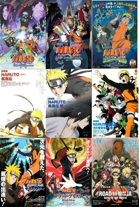 When To Watch The Naruto Movies
