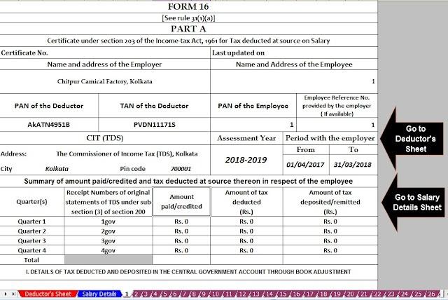 employee salary details in excel download