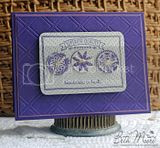 """""""Lattice"""" Impress You with Cheery Lynn Designs Embossing Plates"""