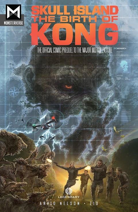 Kong Skull Island Comic Book