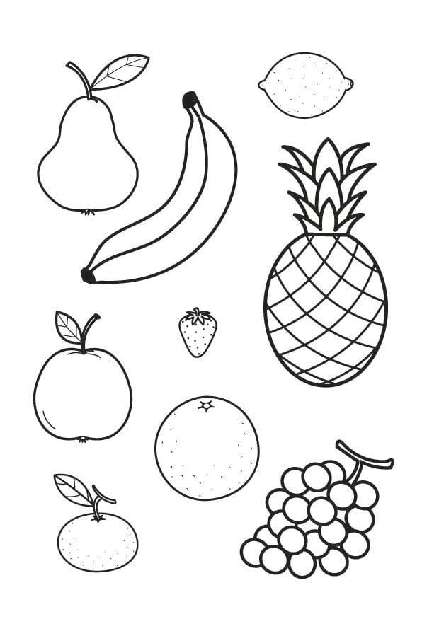 Colorear Frutas Dibujo Limon Auto Electrical Wiring Diagram