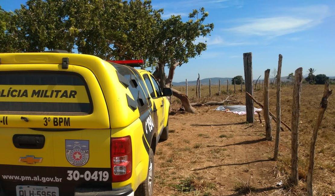Homem foi foi morto a pauladas e pedradas na zona rural de Limoeiro de Anadia