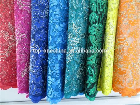 2015 Embroidery Designs African Cord Lace / High Quality