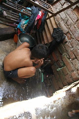 Water Wars in The Slums by firoze shakir photographerno1