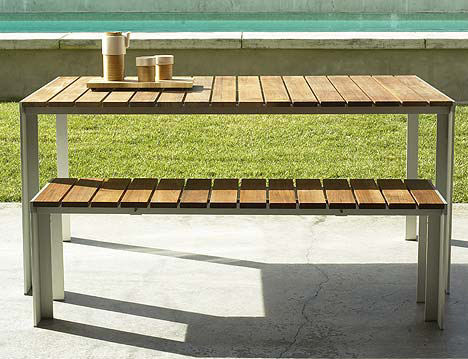 Contemporary Outdoor Dining Table from Design Within Reach - the ...