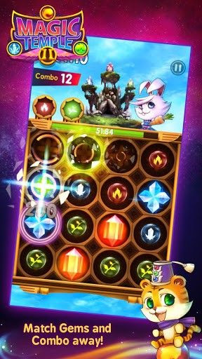 Screenshots of the Magic temple 2: Mage wars for Android tablet, phone.