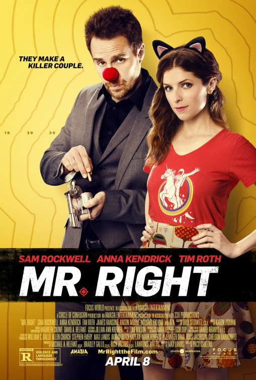Image result for mr right poster