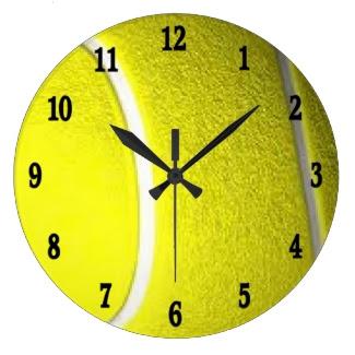 Tennis Ball Sport Wall Clock