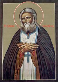 St. Seraphim of Sarov.