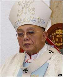 Cardinal Sin in July 2003
