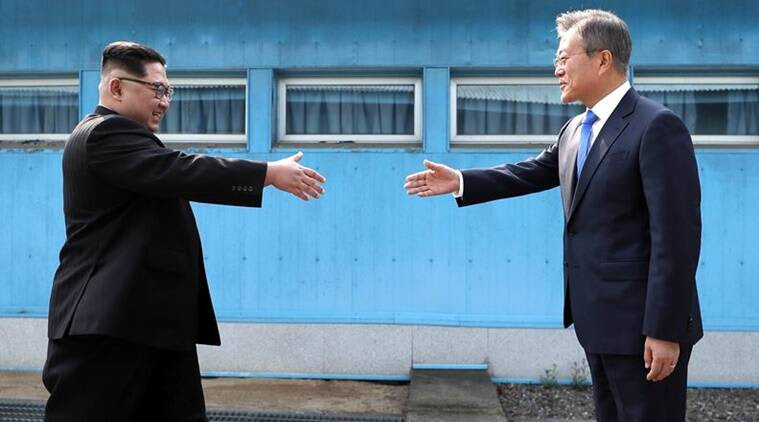 "Korean leaders aim for end of war, ""complete denuclearisation"" after historic summit"