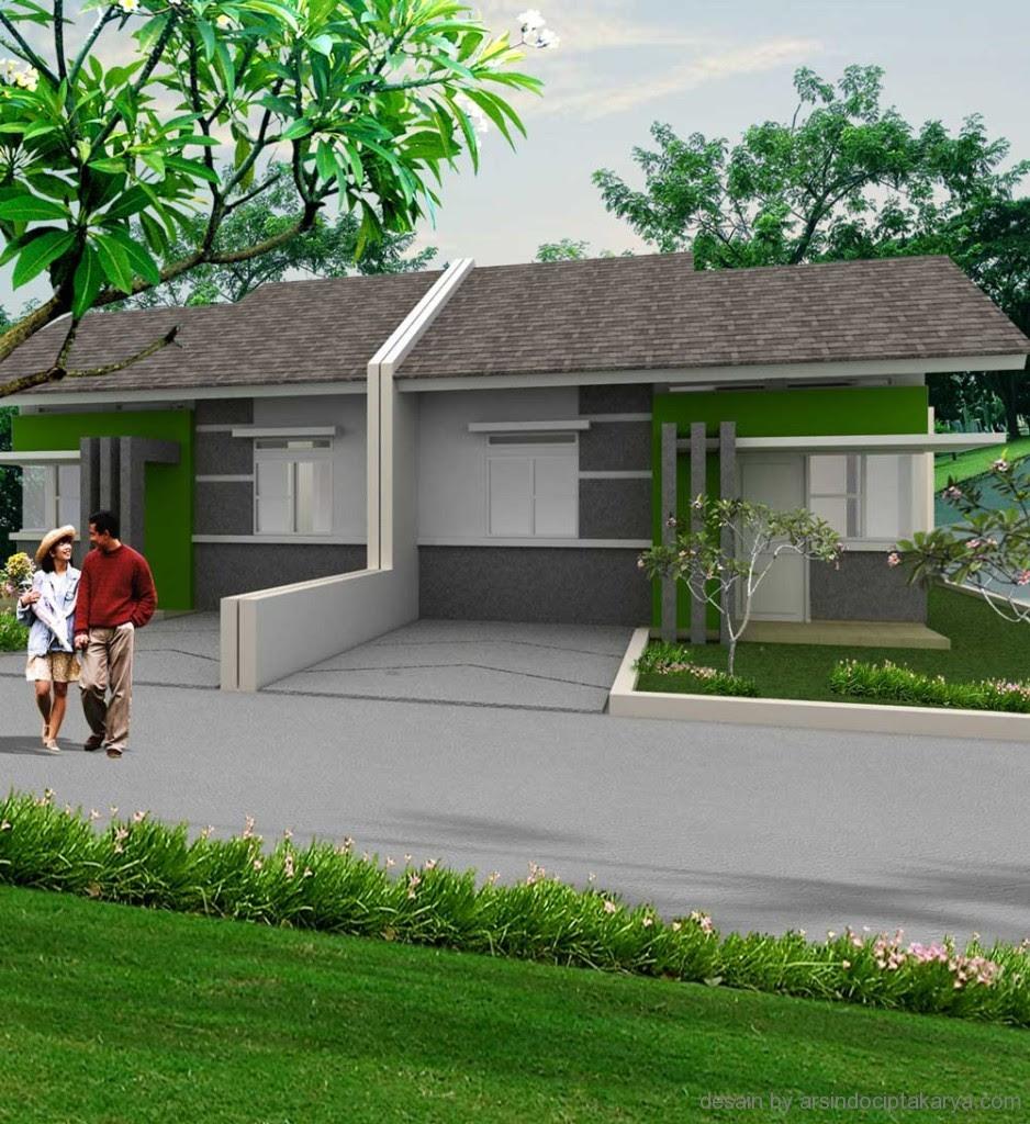 Tampak Depan Rumah Minimalis Gambar Foto Desain Rumah