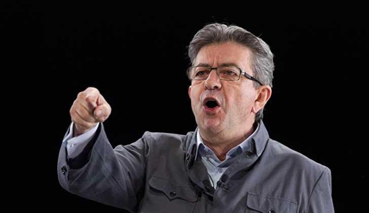 """Jean-Luc Mélenchon rechaza la condena a Lula y acusa a Temer de """"presidente corrupto hasta la médula ósea""""."""