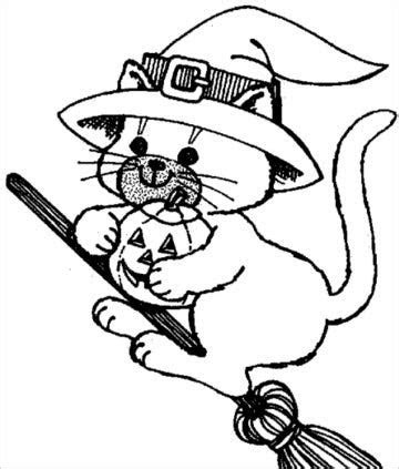 cat coloring page    jpg format