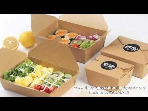 Những mẫu thùng carton đẹp thông dụng nhất