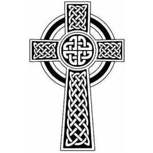 Celtic Cross Tattoo Design For Men