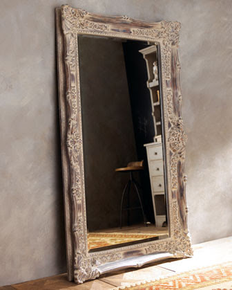 Antique Floor Mirrors Bathroom Design Ideas Gallery Image And
