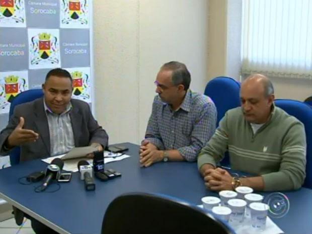 Câmara de Sorocaba anuncia a perda de mandato de vereador (Foto: Reprodução/TV TEM)