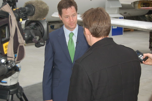 Nick Clegg visit Newcastle Apr 10 14