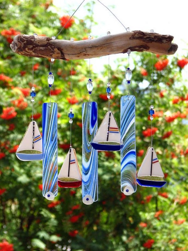DIY Wind Chime Ideas to Try This Summer (19)