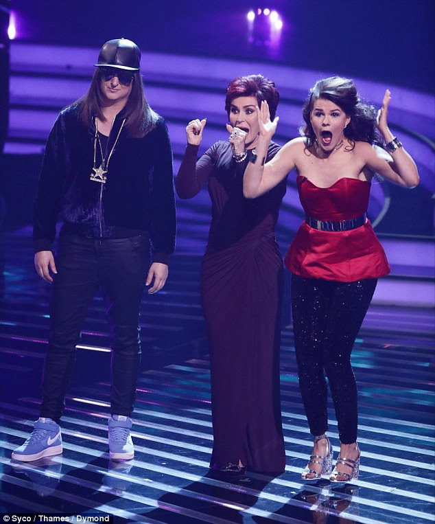 Yes! Sharon's girls Saara Alto and Honey G were overjoyed to be put through
