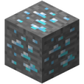 120px Diamond Ore Minecraft Maden Rehberi