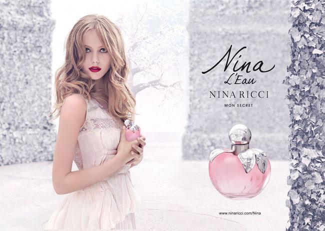 3 frida gustavsson nina ricci nina eau parfum Parfum Nina L'eau de Nina Ricci : Conte dHiver avec Frida Gustavsson