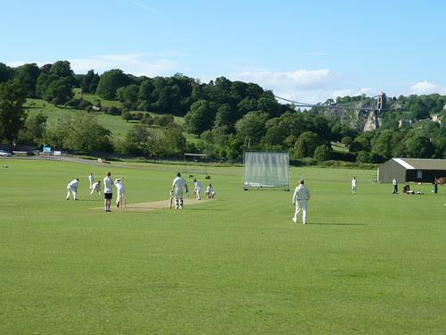Cricket before the bridge