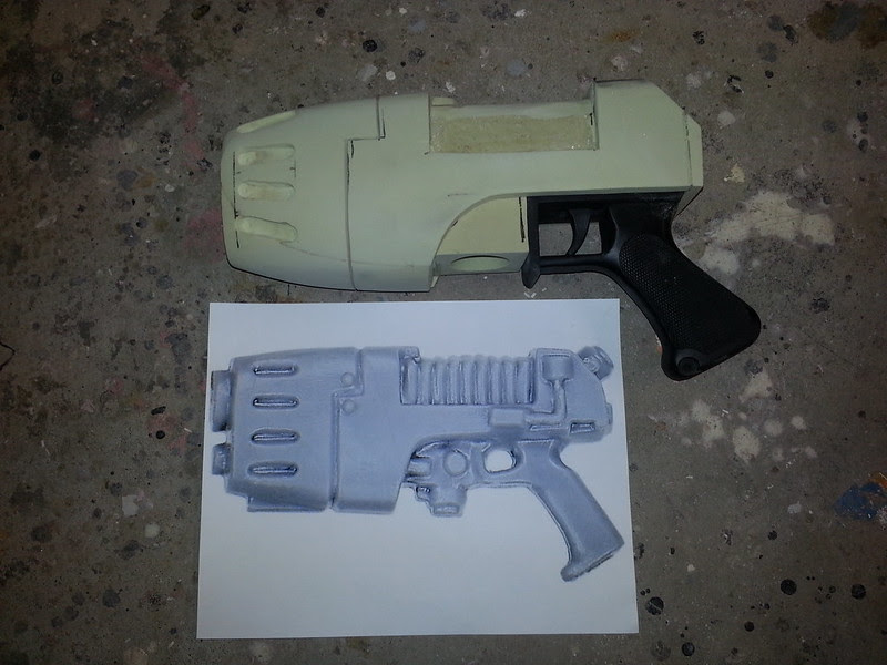plasma pistol WIP