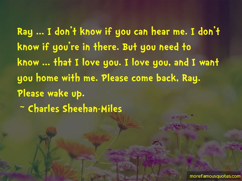 Quotes About Please Come Back Top 58 Please Come Back Quotes From