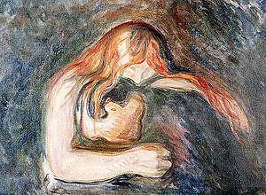 'O Vampiro', de Edvard Munch