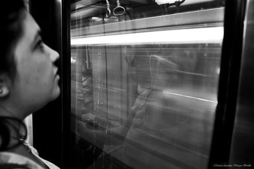 Santiago de Chile, metro de Santiago. by Alejandro Bonilla