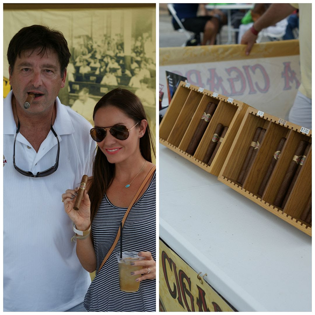 Summer of Rum Festival Cigar Booth