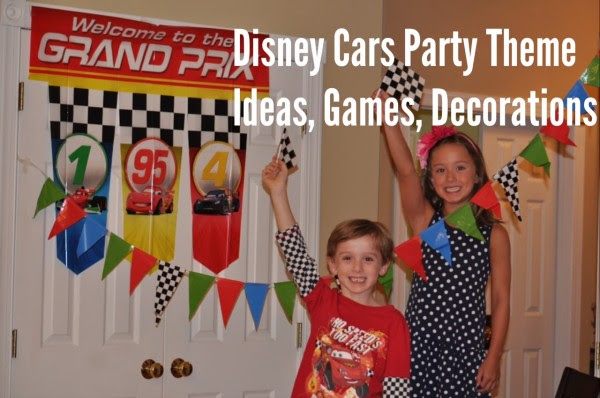 How To Throw A Disney Cars Themed Birthday Party
