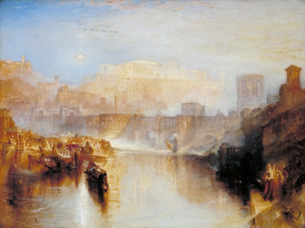 Ancient Rome; Agrippina Landing with the Ashes of Germanicus exhibited 1839.